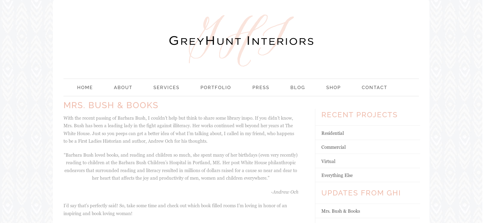 Grey Hunt Interiors Image